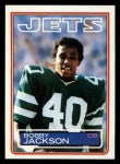 1983 Topps #343  Bobby Jackson  Front Thumbnail