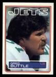 1983 Topps #339  Greg Buttle  Front Thumbnail