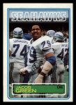 1983 Topps #385  Jacob Green  Front Thumbnail