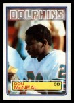 1983 Topps #316  Don McNeal  Front Thumbnail