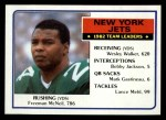 1983 Topps #338   Jets Leaders Front Thumbnail