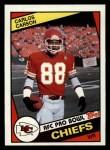 1984 Topps #87  Carlos Carson  Front Thumbnail