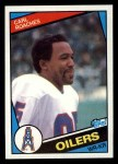 1984 Topps #81  Carl Roaches  Front Thumbnail