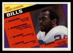 1984 Topps #21   Bills Leaders Front Thumbnail