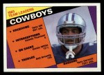 1984 Topps #235   Cowboys Leaders Front Thumbnail