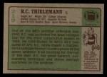 1984 Topps #219  R.C. Thielemann  Back Thumbnail