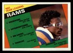 1984 Topps #276   Rams Leaders Front Thumbnail