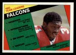 1984 Topps #208   Falcons Leaders Front Thumbnail