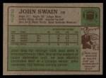 1984 Topps #297  John Swain  Back Thumbnail