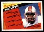 1984 Topps #364   Buccaneers Leaders Front Thumbnail