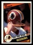 1984 Topps #390  Joe Theismann  Front Thumbnail