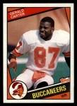 1984 Topps #365  Gerald Carter  Front Thumbnail