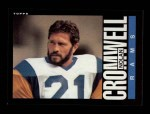 1985 Topps #78  Nolan Cromwell  Front Thumbnail