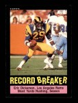 1985 Topps #2   -  Eric Dickerson Record Breaker Front Thumbnail