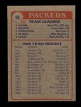 1985 Topps #66   Packers Leaders Back Thumbnail