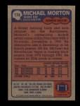 1985 Topps #174  Michael Morton  Back Thumbnail