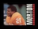 1985 Topps #174  Michael Morton  Front Thumbnail