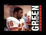 1985 Topps #181  Darrell Green  Front Thumbnail