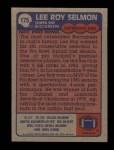 1985 Topps #175  Lee Roy Selmon  Back Thumbnail