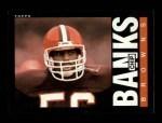 1985 Topps #223  Chip Banks  Front Thumbnail