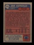 1985 Topps #270  Jim Arnold  Back Thumbnail