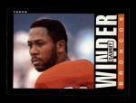 1985 Topps #247  Sammy Winder  Front Thumbnail