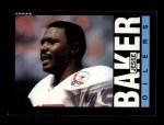 1985 Topps #249  Jesse Baker  Front Thumbnail