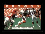 1985 Topps #221   Browns Leaders Front Thumbnail