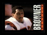 1985 Topps #214  Ross Browner  Front Thumbnail