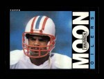 1985 Topps #251  Warren Moon  Front Thumbnail