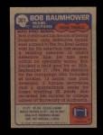 1985 Topps #301  Bob Baumhower  Back Thumbnail