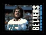 1985 Topps #302  Doug Betters  Front Thumbnail