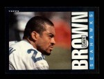 1985 Topps #381  Dave Brown  Front Thumbnail