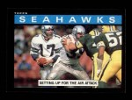 1985 Topps #380   Seahawks Leaders Front Thumbnail