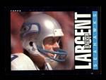 1985 Topps #389  Steve Largent  Front Thumbnail