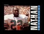 1985 Topps #315  Tony Nathan  Front Thumbnail