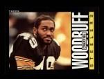 1985 Topps #366  Dwayne Woodruff  Front Thumbnail