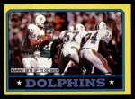 1986 Topps #44   Dolphins Leaders Front Thumbnail