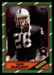 1986 Topps #75  Vann McElroy  Front Thumbnail