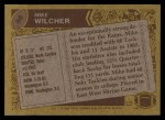 1986 Topps #88  Mike Wilcher  Back Thumbnail