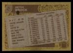 1986 Topps #77  Dieter Brock  Back Thumbnail