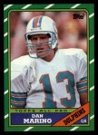 1986 Topps #45  Dan Marino  Front Thumbnail