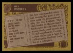 1986 Topps #68  Bill Pickel  Back Thumbnail