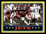 1986 Topps #94   Jets Leaders Front Thumbnail