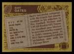 1986 Topps #147  Bart Oates  Back Thumbnail