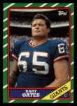 1986 Topps #147  Bart Oates  Front Thumbnail