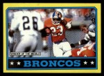 1986 Topps #111   Broncos Leaders Front Thumbnail