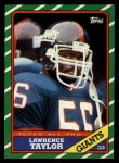 1986 Topps #151  Lawrence Taylor  Front Thumbnail