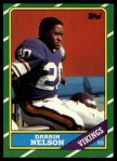 1986 Topps #294  Darrin Nelson  Front Thumbnail