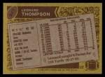 1986 Topps #247  Leonard Thompson  Back Thumbnail